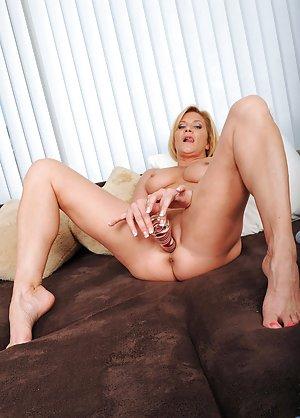 Mature Masturbating Photos