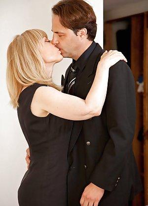 Kissing Matures Photos