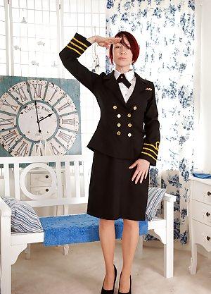 Mature in Uniform Photos