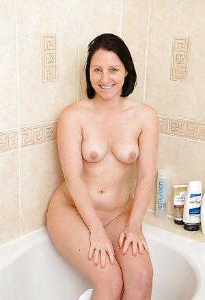 Mature in Bathroom Photos